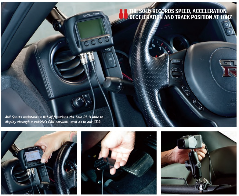 Nissan GTR SoloDL & SmartyCam