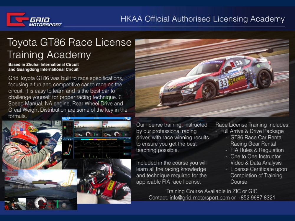 Toyota GT86 Race License Training Academy.001